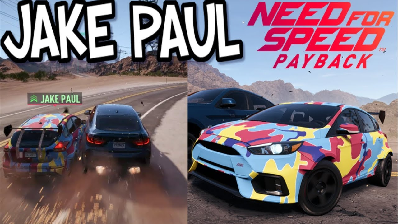 Jake Paul's been added to nfs payback