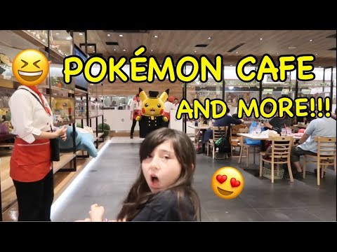 POKEMON CAFE AND MORE!!!