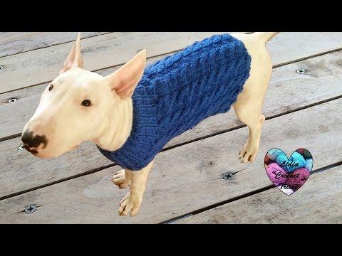como hacer sweater chaleco con 2 agujas para tu mascota doovi. Black Bedroom Furniture Sets. Home Design Ideas