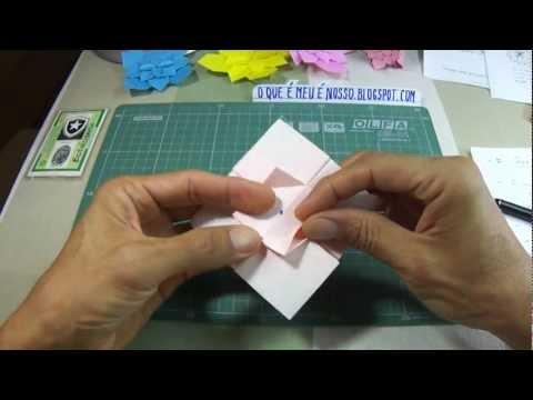 Origami - Hortênsia ( Hydrangea ) - Shuzo Fujimoto (Sub Pt-Br)