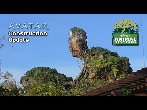Thumbnail: Disney's Animal Kingdom Update - Avatar Land Construction, Dinosaur Back Open and More