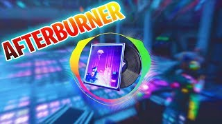FORTNITE AFTERBURNER LOBBY MUSIC 1 HOUR - AUDIO VISUALIZER (100% Clear Bass Boosted)