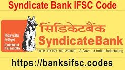 Syndicate Bank IFSC Code