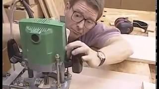 Работа ручным фрезером по дереву (Router Joinery)