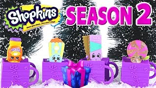 SHOPKINS 2 Crystal Glitz Fluffy Baby Surprise 12 Pack Shopkin Christmas 2014 Toys by DCTC