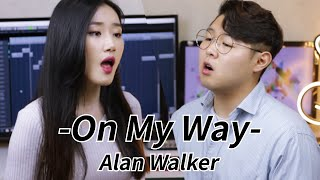 Gambar cover Alan Walker, Sabrina Carpenter & Farruko - On My Way Cover by HighCloud (With Lyrics)