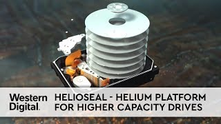HelioSeal®  The Helium Platform for Higher Capacity Drives