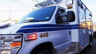 Elmwood Park NJ Ambulance Corp 443 Responding 21st Ave Paterson, NJ