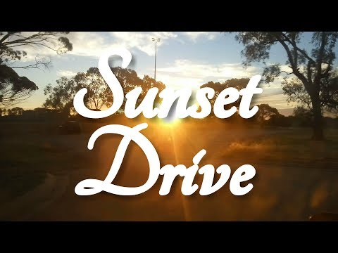 ASMR Sunset Drive through South Australia (Slow TV)