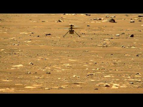 شاهد: المروحية -إنجينيويتي- تحلق مرة ثانية لأعلى ارتفاع وأطول وقت فوق المريخ…  - نشر قبل 56 دقيقة