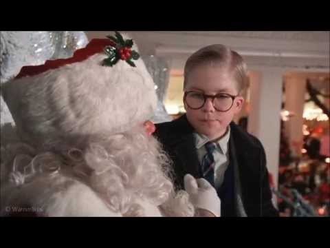 A Christmas Story- Meeting Santa Claus Clip (HD) - YouTube