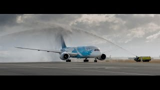 China Southern Airlines Inaugural Flight 16th December 2015