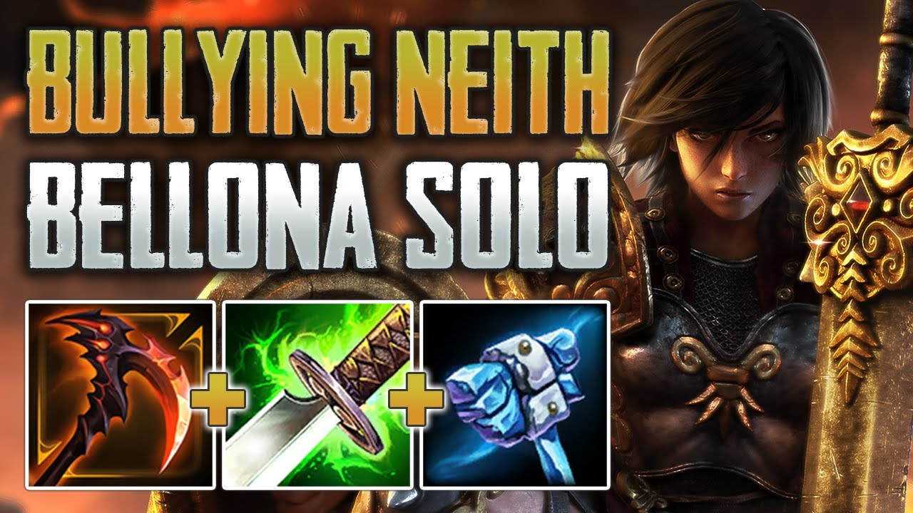 I'M SO SORRY NEITH! Bellona Solo Gameplay (SMITE Conquest)