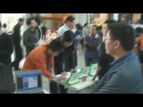 Tech Expo in Nortel Beijing Campus