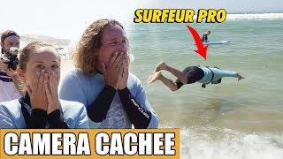 PRANK : un SURFEUR PROFESSIONNEL piège une école de surf !