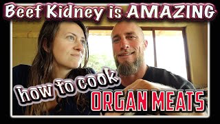 AMAZING overlooked Carnivore Keto food: BEEF KIDNEY | simple, quick, delicious ORGAN MEAT RECIPE