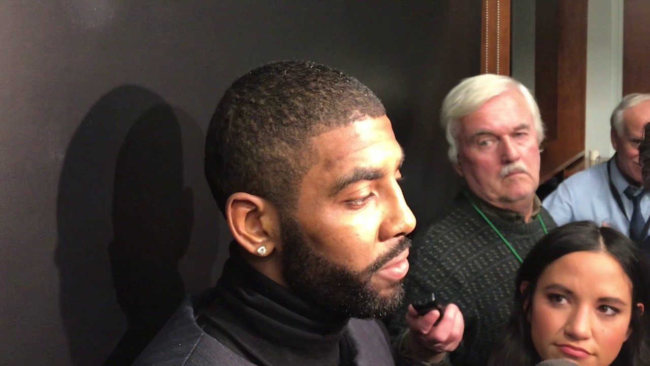 Celtics\u0027 Kyrie Irving explains why he got a haircut