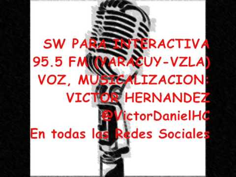 SW INTERACTIVA 95.5 FM (YARACUY - VZLA)   @VictorDanielHC Voice Over Radio Fm