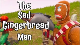 The Sad Gingerbread Man 😓| TSGM Fortnite Video| I Lost This OG Account Sadly