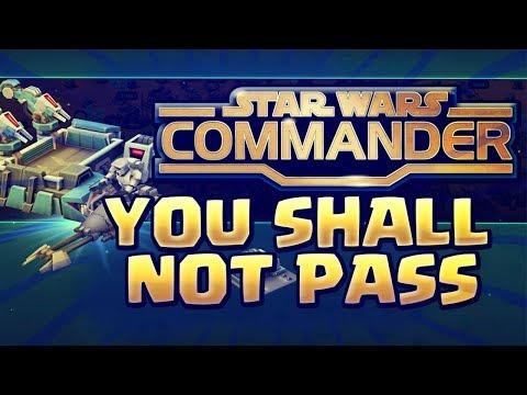 Star Wars Commander | TACTICAL DEFENSE OR TACTICAL DESTRUCTION ?? SWC Empire #183