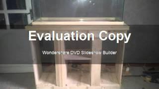 Fish tank stand 30 gallon palette wood
