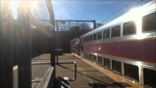 MBTA Commuter Rail, Northeast Regional and Acela Express at Ruggles