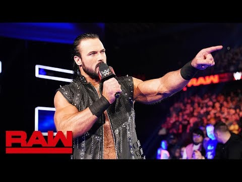 Drew McIntyre interrupts Brock Lesnar and Paul Heyman: Raw, March 18, 2019