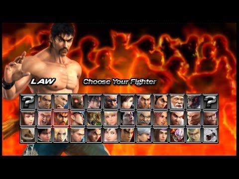 Tekken 5 Dark Resurrection Psp Law Story Mode Playthrough Youtube