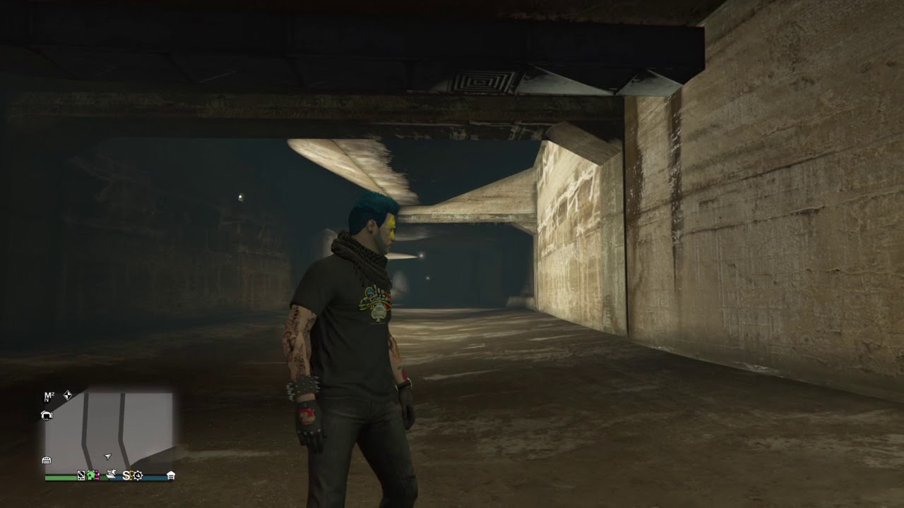 Gta Online Action Figure Location 19 Of 100 Los Santos Sewers Youtube