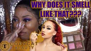 COPY CAT BEAUTY CAN CASH ME OUTSIDE!! | BHAD BHABIE MAKEUP BRAND REVIEW