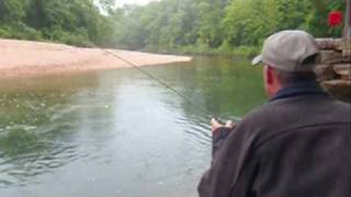 Fly Fishing for Rainbow Trout | Local Creeks Branson Missouri