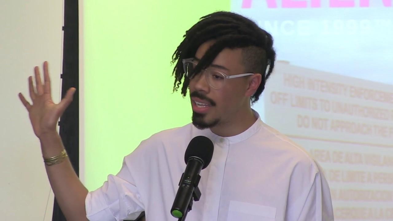 Alan Pelaez Lopez Reads 3 Poems at NYU's Hemispheric Institute of Performance and Politics