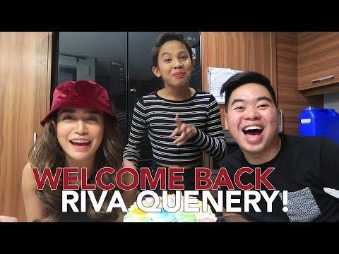 WELCOME BACK RIVA QUENERY! (SPOKENING DOLLAR NA SYA!!)