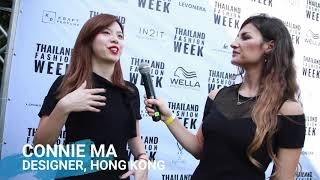 DESIGNER CONNIE MA AT THAILAND FASHION WEEK 2019 | EXCLUSIVE INTERVIEW WITH DE MODE