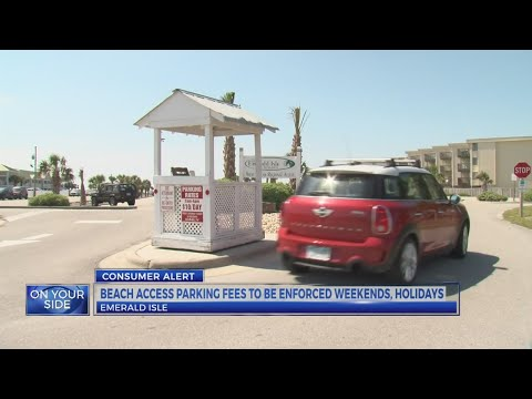 Beach access parking fees to be enforced weekends, holidays