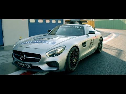 The new Safety Car Mercedes-AMG GT S - Mercedes-Benz original