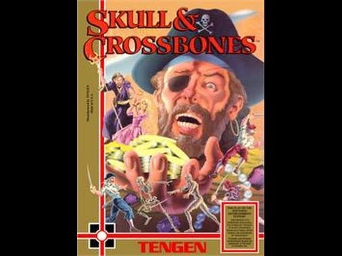 Skull N Crossbones (1990)  - Nintendo NES Longplay [029]