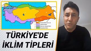 39- Türkiye'de İklim Tipleri-2018