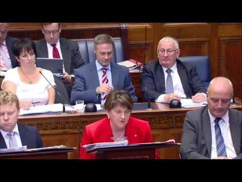 Gerry Carroll questions Arlene Foster on the Ballymurphy Massacre