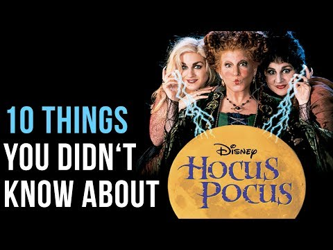 10 Things You Didn't Know About Hocus Pocus