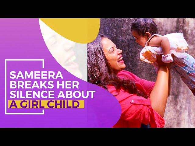 Sameera Reddy feels SORRY that even educated families prefer a boy over a girl child