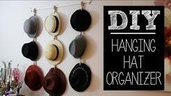 DIY Hat Hanger/Organizer (Easy)   beautybitten
