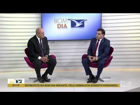 Entrevista concedida ao jornalista Roberto Fernandes, no Bom Dia Mirante