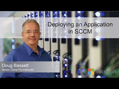 Deploying An Application In SCCM