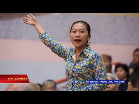 Truyền hình VOA 25/10/18: Lãnh đạo bị dân ném giày nói cử tri 'quá khích'