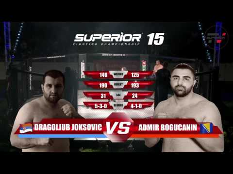 Superior FC 15 - Fight 8 - Dragoljub Joksovic vs. Admir Bogucanin