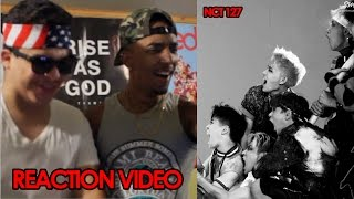 nct 127 fire truck reaction video somuchfuego