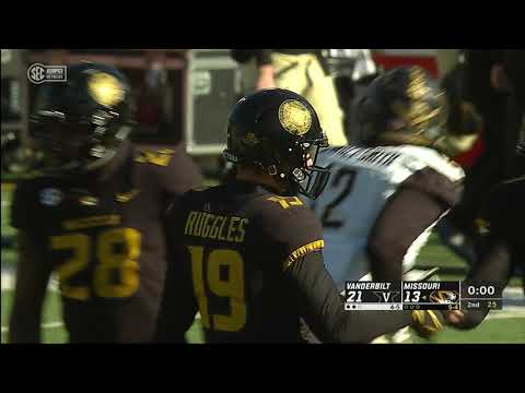 HIGHLIGHTS:  Mizzou Bowl Eligible after win over Vandy