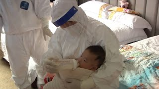 """Download Coronavirus fight: """"Nurse mothers"""" at isolation points Mp3 and Videos"""
