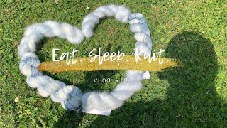 [뜨개로그] 바나의 Eat. Sleep. Knit. 018  인간극장 실에 파묻친 개발자/ 핸드다잉얀 사고 …